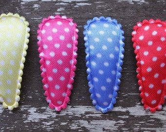 Baby Snap Clips - 30mm - perfect for fine hair
