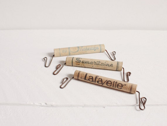 Vintage Paris Grands Magasins bag handles