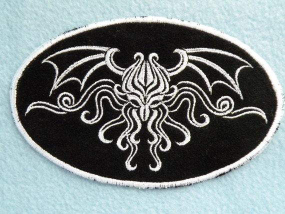 Cthulhu Iron on Patch 2 sizes