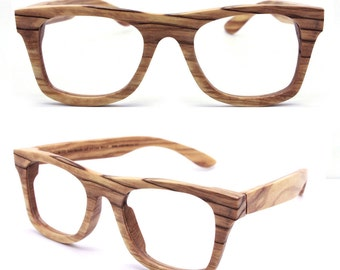 WALKER2011 handmade vintage olive wood  wooden sunglasses glasses eyeglasses