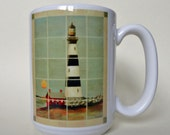Lighthouses Ceramic Mug Original Design
