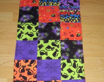 Festive Halloween Table Runner