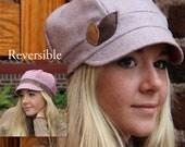 Reversible Newsboy Hat