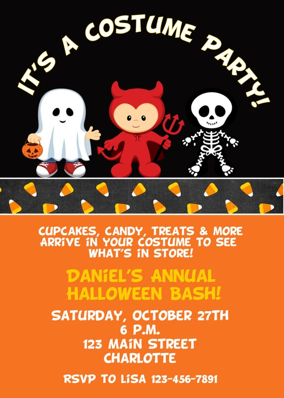 Halloween Party Invitation Wording was adorable invitation sample