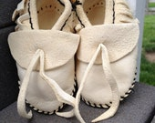 Hand crafted baby moccasins