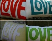 Design you own Love Pillow