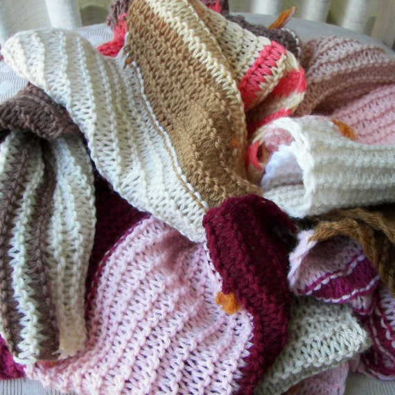 Hands Knitting Drawing : Freestyle wool art hand knit in usa scarf colors by