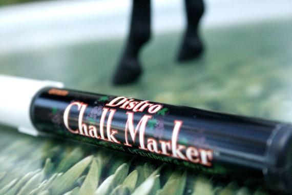 White Chalk Marker for Chalkboards and Chalkboard Horses