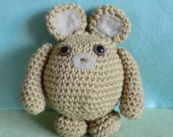 bumblebear, teddy bear amigurumi crochet pattern