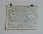 Vintage Map-City of Philadelphia-Early 20th Century