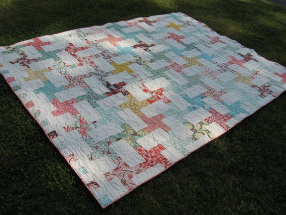 Fandango Cartwheels Quilt - Twin