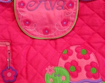 Stephen Joseph Personalized Monogrammed NEW Girl Turtle Backpack