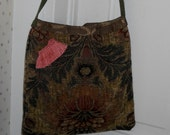 Fabric Shoulder Bag Rustic  Multicolors