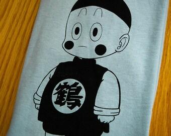Dragonball Z Inspired Chiatzu Screenprinted T-Shirt