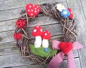 Wreath, Lucky Shrooms