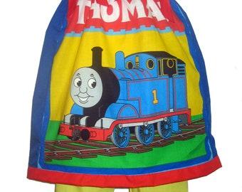 3T/4T or 5/6 PAGEANT Pillowcase Dress & Pants Set Thomas The Tank Train Boutique New
