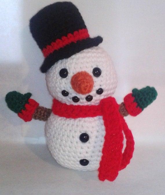 Amigurumi Snowman Ornament : Snowman Amigurumi Crochet Pattern