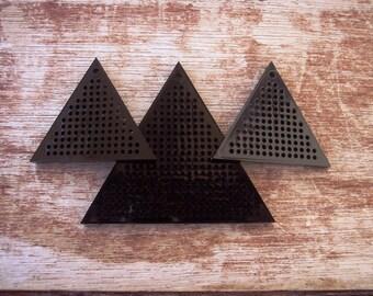 Acrylic Cross Stick Set - Do It Yourself -3 pieces Blanks-
