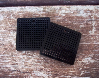 Acrylic Cross Stick Earrings - Do It Yourself -2 pieces Blanks-