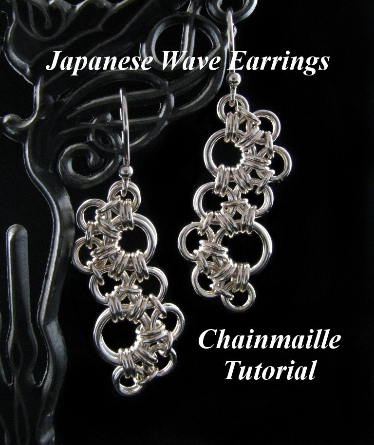 Chainmaille Tutorial For Japanese Wave By Wolfstonejewelry