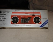GPX AM/FM Stereo Portable Radio