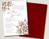 wedding invite- lucine