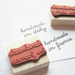 Handmade in ... Rubber Stamp - Customize to Your Country, State, or City - Personalized Custom Stamp