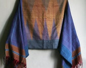 Southwestern Tribal woven Scarf - RESERVED please do not purchase