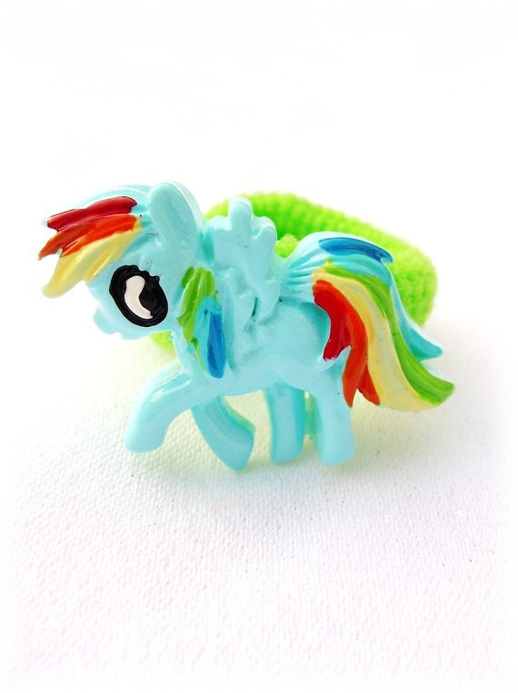 My Little Pony Hair Binder...Ponytail Hair Binder...PIgtail Hair Binder