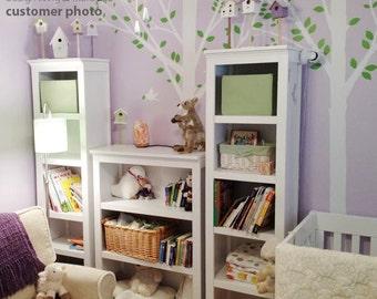 Children Wall Decals - Summer Bird Trees - 0047