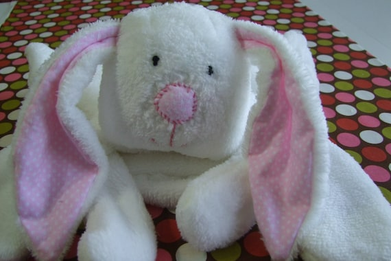 Rabbit Cuddle Buddy Personalized First Name