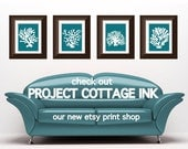 NEW PRINT SHOP Project Cottage Ink - Esty Sister Store Featuring our Graphic Prints