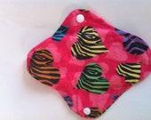 1 Neon Hearts Cloth Pad