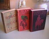 3 Vintage Western Cowboy Books by Ralph Connor