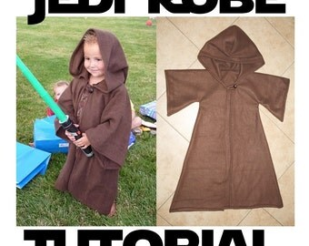 Jedi Robe Costume Pattern & Tutorial