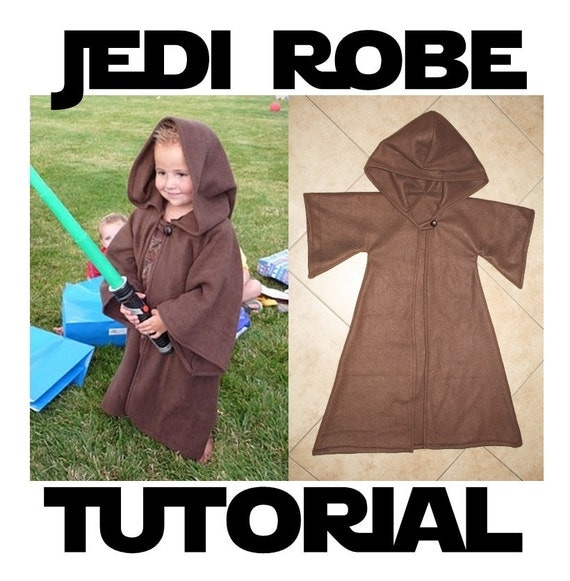 Jedi Robe Costume Pattern & Tutorial