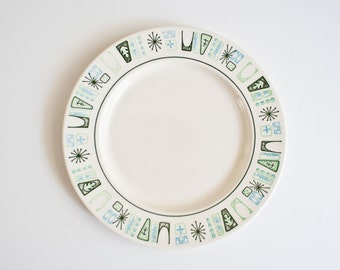 Vintage Atomic Mid Century Modern Cathay Plates - Taylor Smith & Taylor