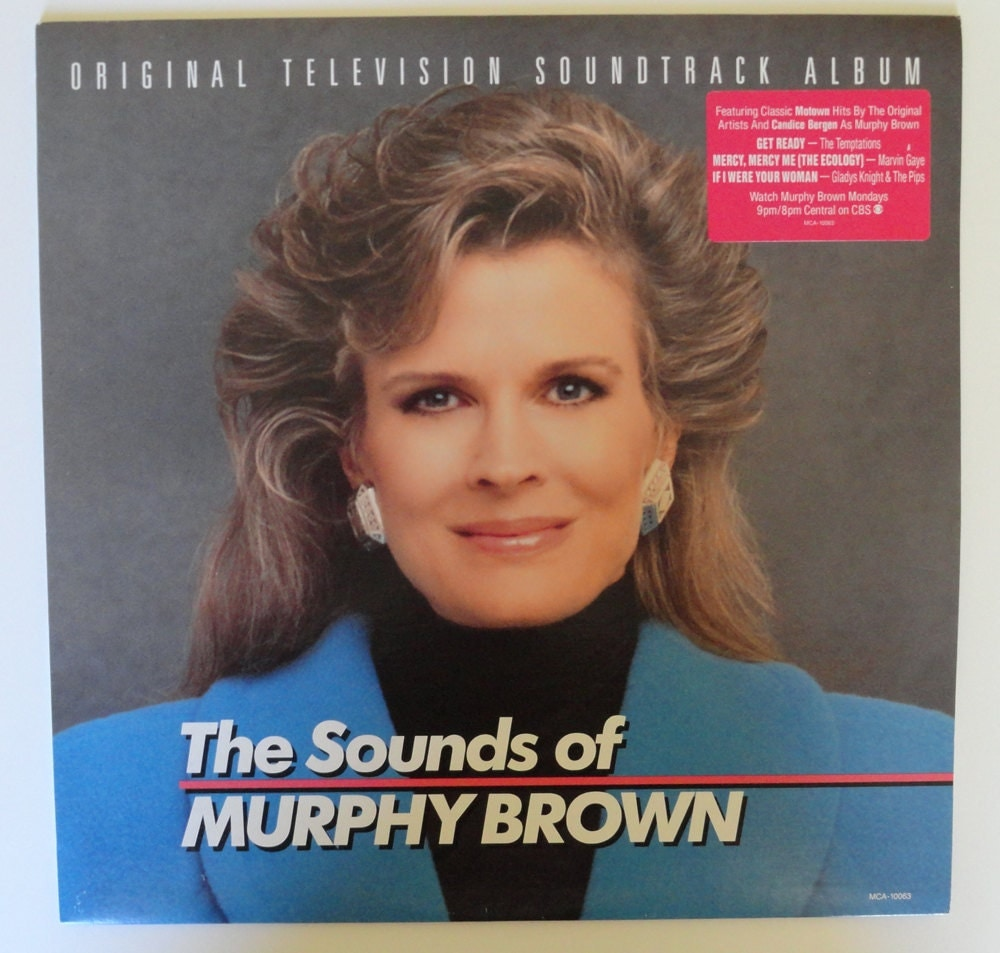 Rare The Sounds Of Murphy Brown Vinyl Soundtrack