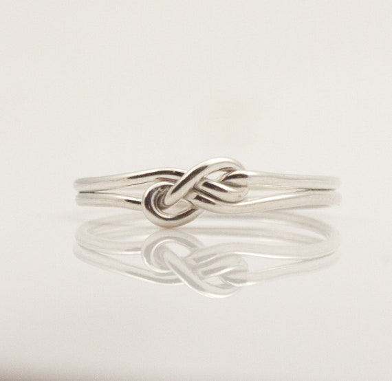fancy infinity ring unique friendship rings by