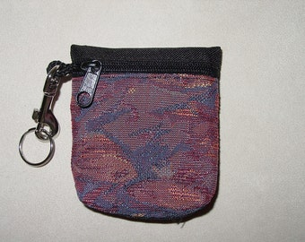 Art Decco Modern Tapestry Belt Pack/Key Chain Combo
