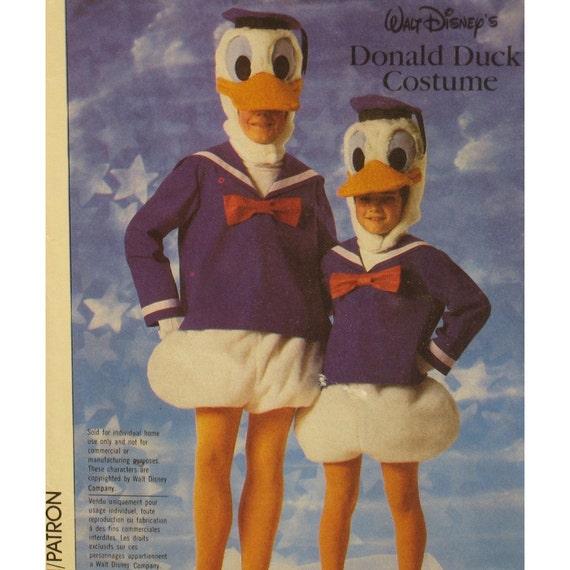 donald duck costume pattern walt disney hood feet by. Black Bedroom Furniture Sets. Home Design Ideas