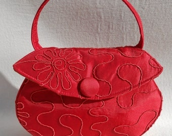 Small Red Cocktail Bag