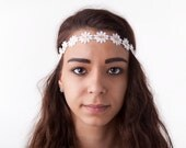 Daisy Chain Forehead Band