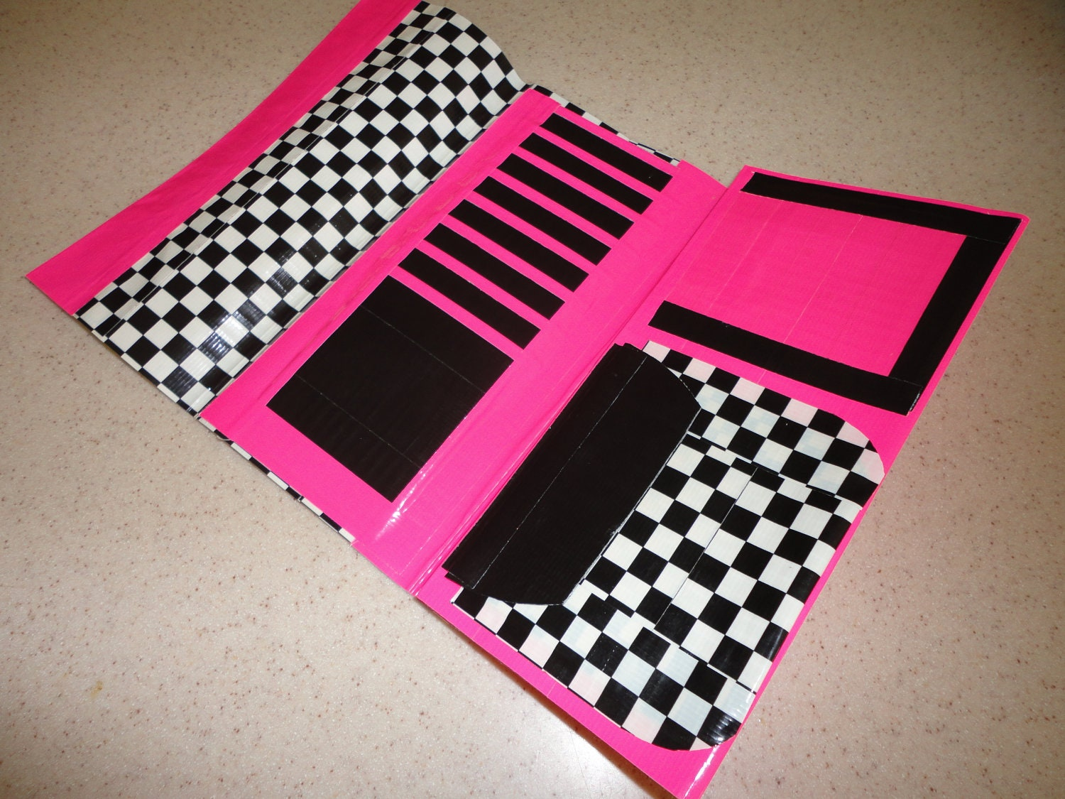 DIY Duct Tape Womens Clutch Tutorial!  YouTube