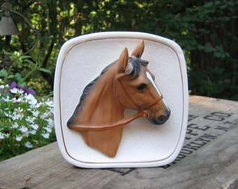 Horse Head Wall Pocket Made in Japan by Norcrest - Oak Hill Vintage