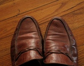 mens vintage bally loafers