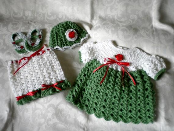 Mistletoe & Holly Holiday Dress Set