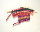 greeting card - handknit little sweater no. 30