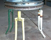 ReCycled Fork Side Table... Choose your design