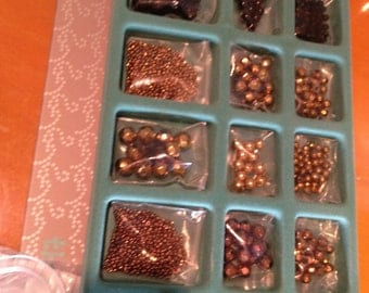 QVC Silver, Pewter, Crystalline, Gold, Copper and Jet Black Metallic Bead Sets (36 kinds)